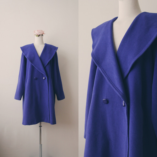 [vintage] blue sailor coat