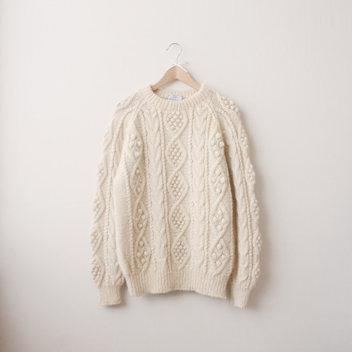 [vintage] oliver irish sweater