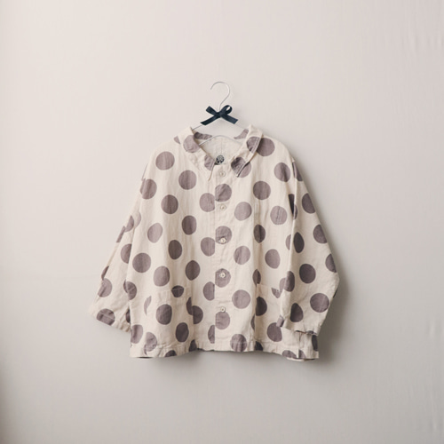 [by mani] dot linen jacket (재입고)