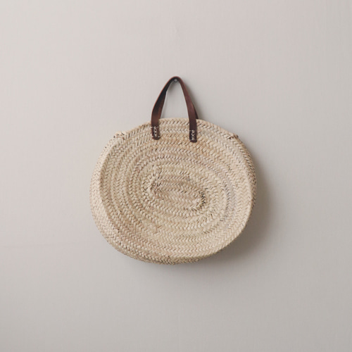 [by mani] palm leaf french basket bag (시즌한정)
