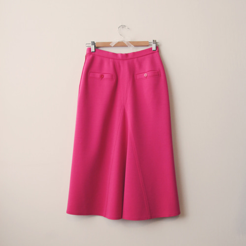 [vintage] pink lady wool skirt