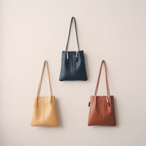 [by mani] general leather bag (3 colors)