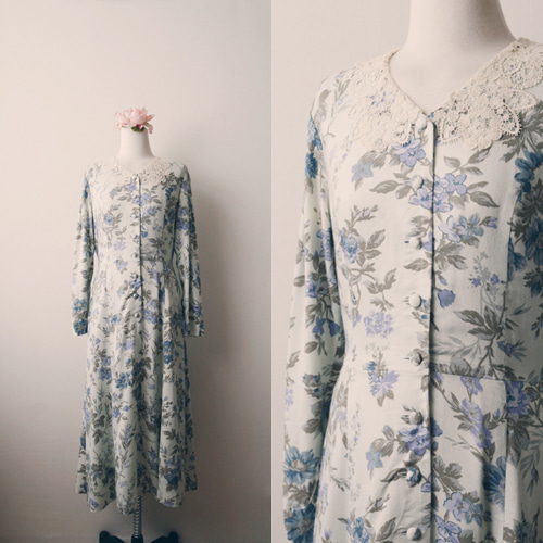 [vintage] laura ashley florence dress