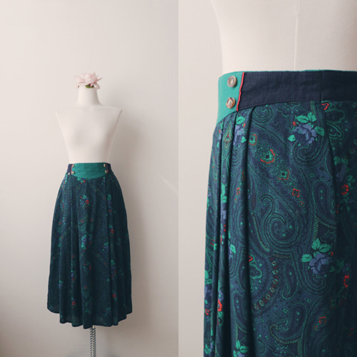 [vintage] europe classica skirt