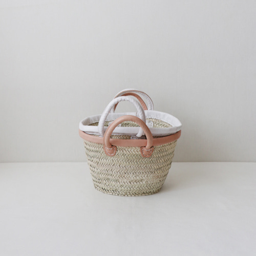 [by mani] palm french basket bag (시즌한정)