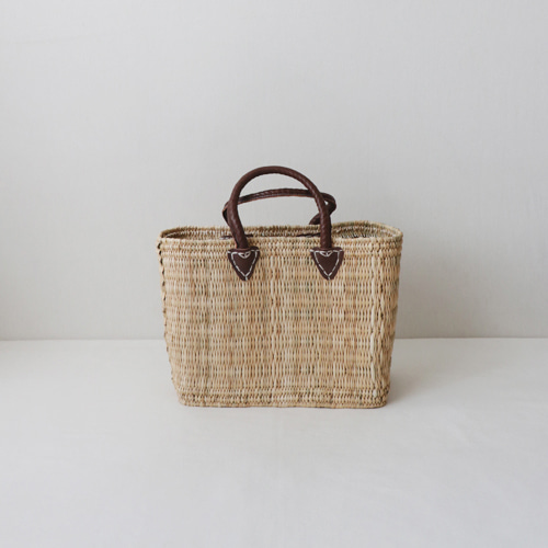 [by mani] leaf french basket bag (시즌한정)