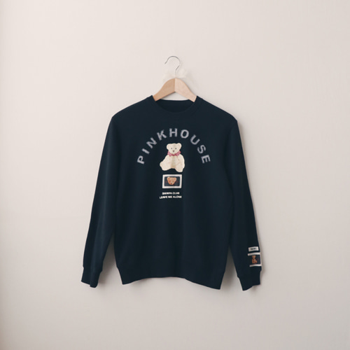 [vintage] pinkhouse teddy sweat shirt