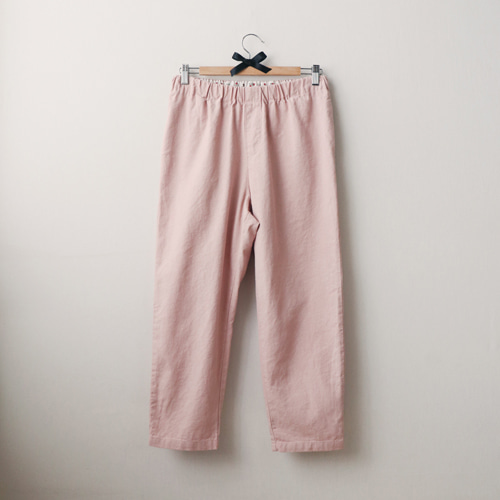 [by mani] rosie pink linen pants